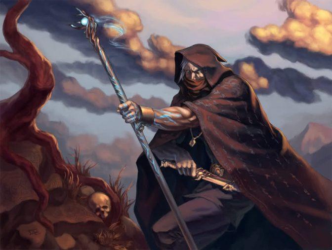 Crónicas del mago: oscuridad por @JFrozenEarth